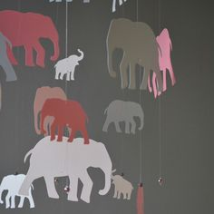 These elephants are so cute! A lovely new addition to my Etsy shop.