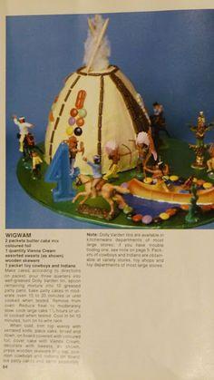 Tchotchkes etc.: The Teepee Cake Challenge- for Jon's birthday!!