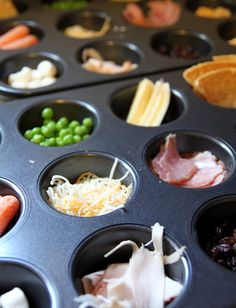 Muffin tin Mondays... going to try this for my picky eater