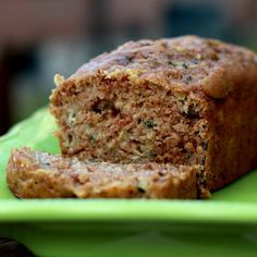 Made Banana Bread today... this is on the list for next weekend - Zucchini bread with applesauce