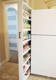 Оригинальные места хранения на кухне
