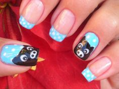 Nail Art Pig; that is pretty freaking cool
