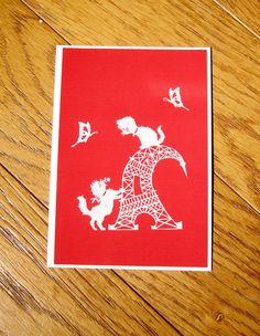 Art Print Postcard Art Card Postcard Art Small Format Art