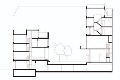 Image 18 of 19 from gallery of BIGyard / Zanderroth Architekten. Co Housing, Berlin, Home Projects, Floor Plans, Gallery, House, Roof Rack, Home, Homes
