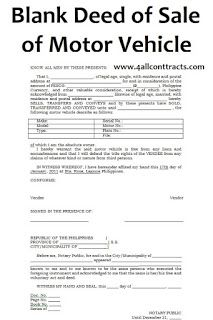 All Contracts In 1 Place Motor Car Rental Agreement Templates