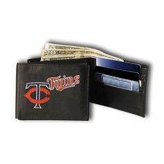 Minnesota Twins MLB Embroidered Billfold Wallet