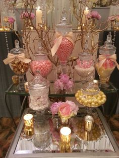 Candy Vixen Custom Candy Bar Buffets together with Bella Blooms Floral Design Studio at the Hotel Irvine Aroos Bridal Expo