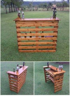 Creative Ideas for Recycled Wood Pallets Wood Pallet Wine Bar