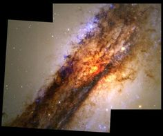 Nearby Galaxy Centaurus A