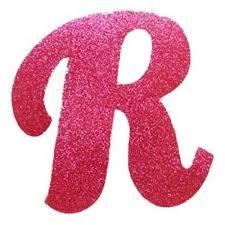 Resultado de imagem para molde letras cursiva r