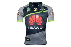 ISC Canberra Raiders NRL 2018 Alternate S/S Rugby Shirt, £60.00