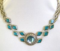 Blissful Blue Moon Necklace