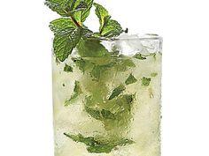 Mint-Champagne Shrub