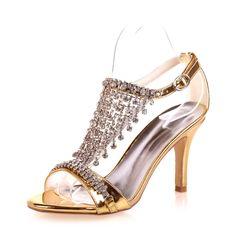 Wedding Party Cocktail Night Club Shoes //Price: $87.68 & FREE Shipping //http://likeadiamondworld.com/fashion-woman-t-shape-strap-high-heel-sandals-rhinestone-fringe-wedding-party-cocktail-night-club-shoes-champagne-blue-silver/