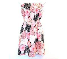 Tutorial: One-hour strapless summer dress