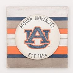 Vintage inspired Auburn University home decor.  Officially Licensed auburnloveitshowit.com