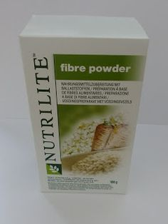 NUTRILITE™ Fibre Powder: unterstützt die normale und regelmäßige Verdauung, was bei einer Gewichtsreduktion eine wichtige Rolle spielt. Bestellnummer: 102736 -->  http://www.amway.de/user/sandraneu