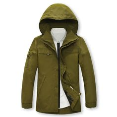 59.15$  Buy now - http://ali9de.worldwells.pw/go.php?t=32600516686 - 2015 New Arrival Men Jackets Outdoor Army Military Style Jackets 100% Cotton Jacket Hoods With Hats Winter Wear Plus Size 5XL