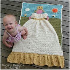 Princess Quilt Crochet Pattern