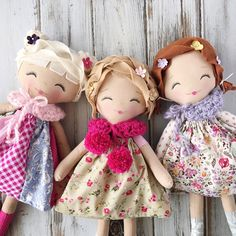 Handmade Rag Dolls by SpunCandy