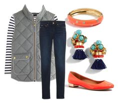 """""""Running errands"""" by preppyminusthepearls on Polyvore featuring J.Crew and Point Sur"""
