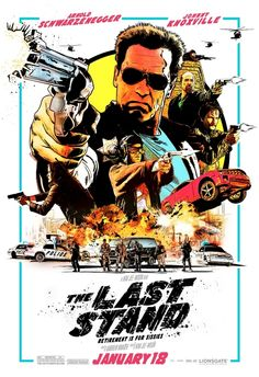 Mostly generic action, The Last Stand likely would've gone straight-to-video if it didn't mark the return of Arnold Schwarzenegger to starring roles.