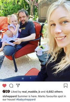 Mark Shepard with Wife Sara and daughter Mark Sheppard, Make Me Smile, I Laughed, Supernatural, Best Friends, Fandoms, Crowley, Couple Photos, My Love