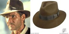 Indiana Jones wore a cool hat.