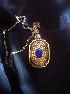 Vintage Avon Locket and Chain by MamaMaesMarket on Etsy, $20.00