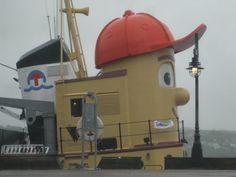 Halifax...took David to see Thomas the Tugboat in Nova Scotia, he loved it.
