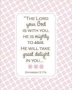 Zephaniah 3:17a