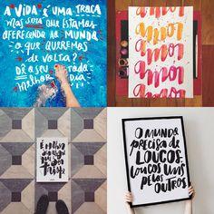 Vanessa Kinoshita - 10 designers brasileiros que criam incríveis letterings feitos à mão;