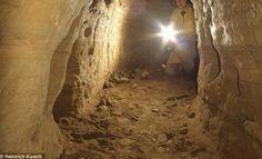 Extensa rede de túneis, que vai da Escócia até a Turquia, é encontrada na Europa: