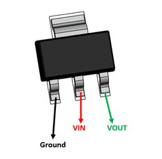 The is a high efficiency linear voltage regulator. Simple Electronics, Electronics Basics, Electronics Projects, Electrical Projects, Electronics Components, Electronic Circuit Design, Electronic Parts, Electronic Engineering, Sony Led Tv
