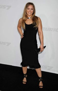 "Ronda Rousey At ""Furious Premiere Ronda Rousey Wwe, Ronda Jean Rousey, Wrestling Superstars, Wrestling Divas, Ufc Women, Sexy Women, Rowdy Ronda, Wwe Female Wrestlers, Martial"