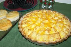 Tater Tot Breakfast Quiche from Bear Grove Cabins Bed & Breakfast in Mulberry Grove, IL