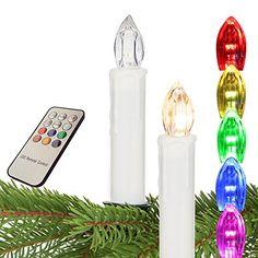 Weihnachtskerzen Christbaumkerzen Weihnachtsbaumbeleuchtung Kerzen Lichterkette