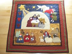 Joy to the World, a Nancy Halvorsen, ART to Heart pattern