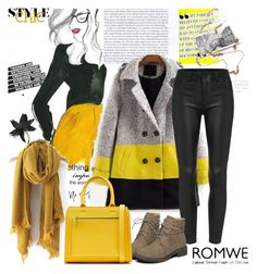 """""""Romwe scarf"""" by irinavsl ❤ liked on Polyvore featuring moda, Marni, Victoria Beckham, women's clothing, women's fashion, women, female, woman, misses y juniors"""