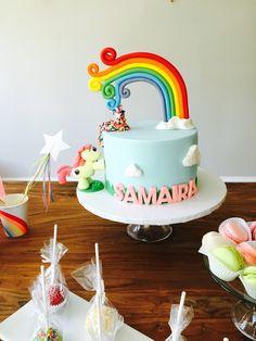 my little pony fondant cake, my little pony birthday cake