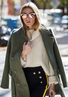 These Shades Are Sick—Thanks, Olivia Palermo via @WhoWhatWearAU
