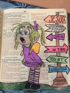 Jesus will point you in the right direction. #biblejournaling