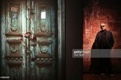 TORONTO, ON - NOVEMBER 17 - in Toronto on November 17, 2015 Celebrated Iranian filmmaker Abbas Kiarostami poses for pictures at his installation piece called Doors Without Keys at the Aga Khan Museum.