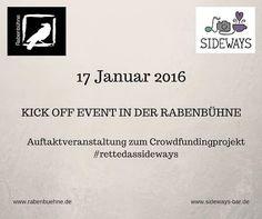 Auftaktveranstaltung zum Crowdfundingprojekt #rettedassideways | Facebook