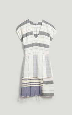 Throw on after your outdoor shower: turkish towels to dress :: modify the pattern