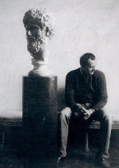 "Edwin Parker ""Cy"" Twombly Jr. (1928-2011)   Rome   1962   Photo: Werner Schloske."