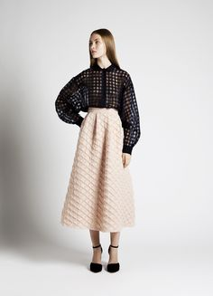Roman Shirt and Damira Skirt | Samuji SS14 Seasonal Collection
