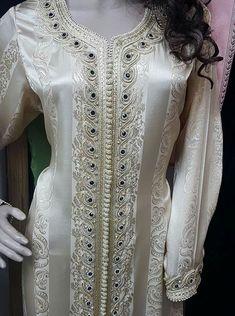 356769601729800748 - craftIdea.org Kaftan Designs, Dress Neck Designs, Kurta Men, Muslim Wedding Dresses, Moroccan Caftan, Hijab Dress, Casual Work Outfits, Hijab Fashion, Muslim Fashion