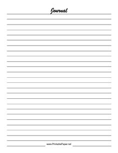 Notebook paper to print