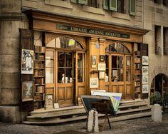 Librairie ancienne, Vieille Ville Genève